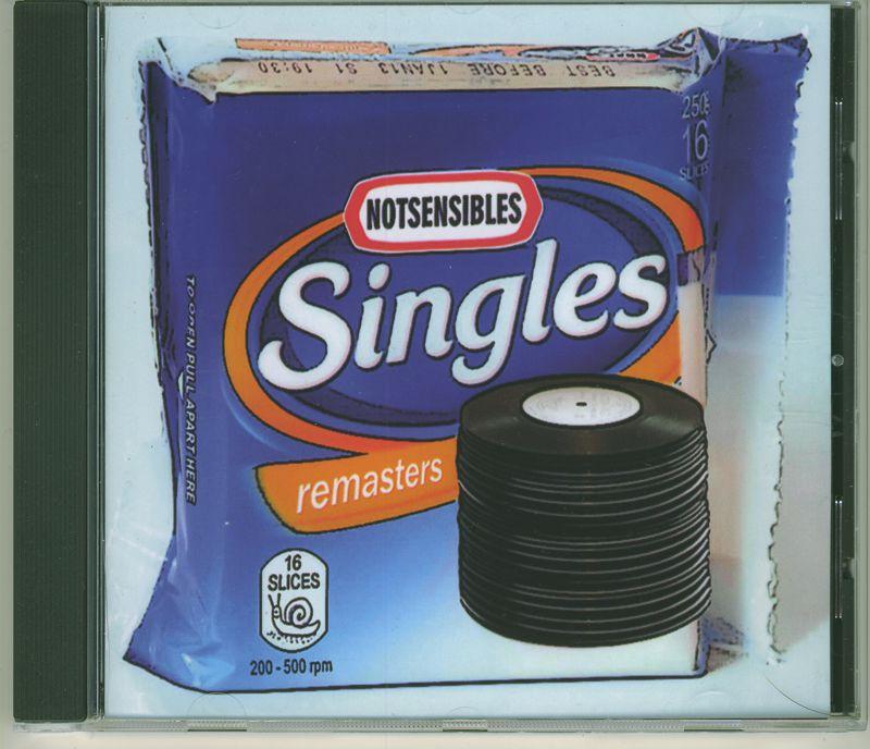 Notsensibles singles CD